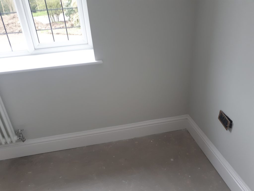 Skirting installed by CL Joinery