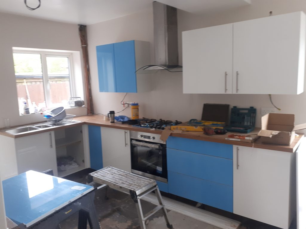 B & Q Kitchen Cabinets   CL Joinery